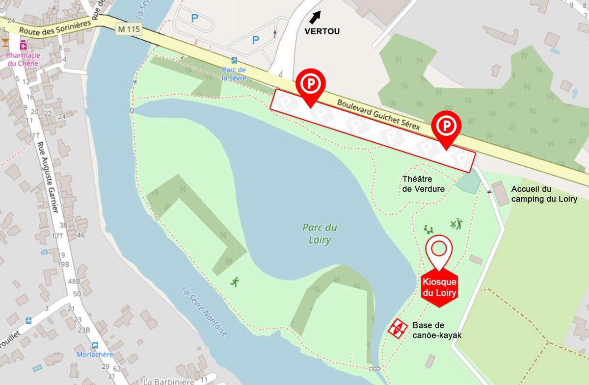 plan accès Loiry